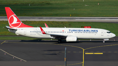 TC-JHU - Boeing 737-8F2 - Turkish Airlines