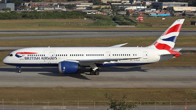 G-ZBJB - Boeing 787-8 Dreamliner - British Airways