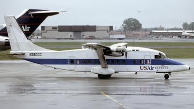 N360CC - Short 360-300 - US Airways Express (CCAir)