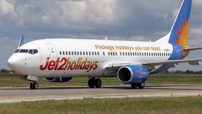 A picture of GDRTG - Boeing 7378BK - Jet2 - © Loredana Cioclei