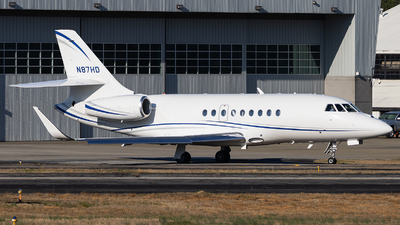 N87HD - Dassault Falcon 2000LX - Private