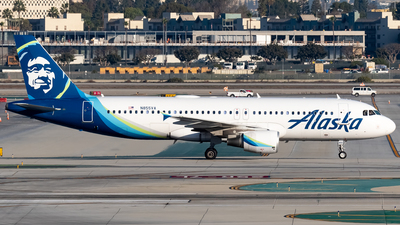 A picture of N855VA - Airbus A320214 - Alaska Airlines - © Ricky Teteris