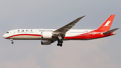 B-20D8 - Boeing 787-9 Dreamliner - Shanghai Airlines