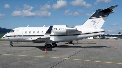 VT-ZST - Bombardier CL-600-2B16 Challenger 604 - Private
