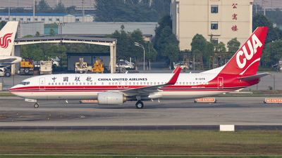 A picture of B1279 - Boeing 73789P - China United Airlines - © Eric Wang