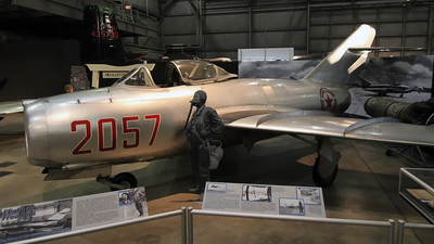 2057 - Mikoyan-Gurevich MiG-15bis Fagot - North Korea - Air Force