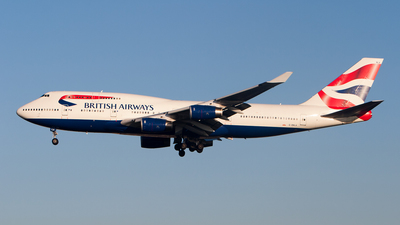 G-BNLA - Boeing 747-436 - British Airways