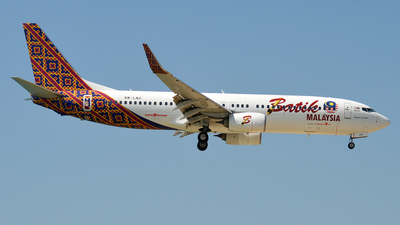 9M-LNC - Boeing 737-8GP - Malindo Air