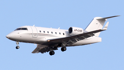 VP-CAS - Bombardier CL-600-2B16 Challenger 604 - Private