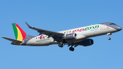 A picture of CP3130 - Embraer E190STD - Amaszonas - © Cris.Spotter.mg