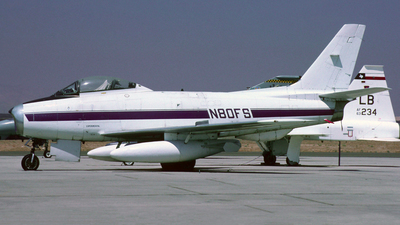N80FS - Canadair CL-13B-6 Sabre - Private
