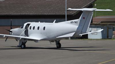 A picture of HBFWD - Pilatus PC12/47E -  - © Mirko Bleuer