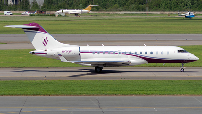M-YVVF - Bombardier BD-700-1A10 Global 6000 - Private