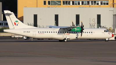 A picture of OYRUV - ATR 72600 - Danish Air Transport - © Holger Eultgen