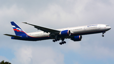 A picture of VQBUA - Boeing 7773M0(ER) - Aeroflot - © Jeremy Denton