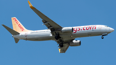 A picture of TCCPL - Boeing 73782R - Pegasus Airlines - © Taha Berat