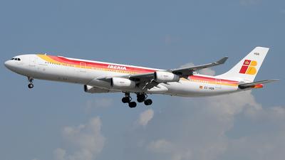 EC-HQN - Airbus A340-313X - Iberia