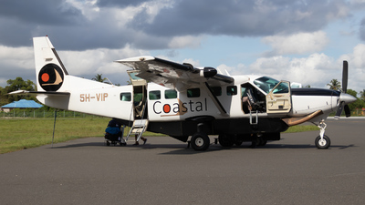 5H-VIP - Cessna 208B Grand Caravan - Coastal Aviation