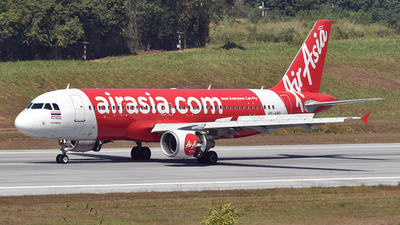 A picture of HSABQ - Airbus A320216 - AirAsia - © Ratchapon Pipitsombat