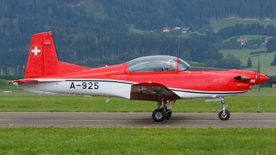 A-925 - Pilatus PC-7 - Switzerland - Air Force