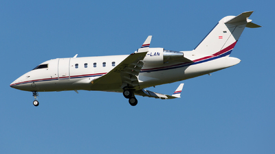 OE-LAN - Bombardier CL-600-2B16 Challenger 650 - Private