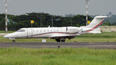 VH-PFS - Bombardier Learjet 45 - Pacific Flight Services