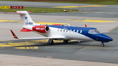 LX-RSQ - Bombardier Learjet 45XR - Luxembourg Air Rescue (LAR)