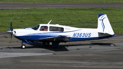 N363US - Mooney M20M - Private