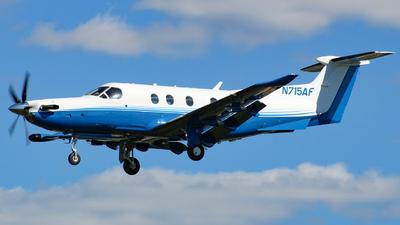 A picture of N715AF - Pilatus PC12/47E - PlaneSense - © Sam DeBartolo