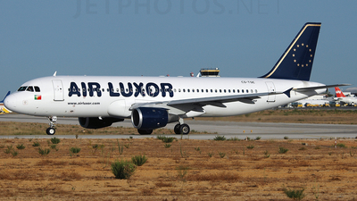 CS-TQE - Airbus A320-211 - Air Luxor