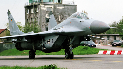 29-10 - Mikoyan-Gurevich Mig-29G Fulcrum - Germany - Air Force
