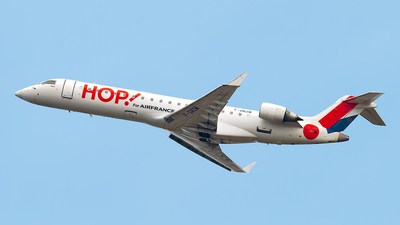 F-GRZM - Bombardier CRJ-701 - HOP! for Air France