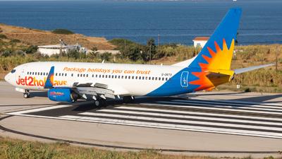 A picture of GDRTO - Boeing 7378JP - Jet2 - © Fryderyk Kastelnik/ Fred Aviation
