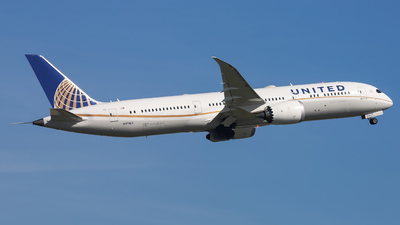 N17963 - Boeing 787-9 Dreamliner - United Airlines