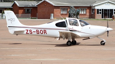 ZS-BOR - Cirrus SR20-G2 - Private