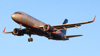 VP-BAD - Airbus A320-214 - Aeroflot