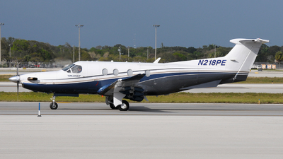 N218PE - Pilatus PC-12/47E - Private