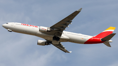 A picture of ECLUX - Airbus A330302 - Iberia - © James Rowson