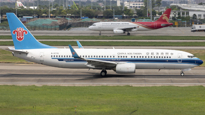 A picture of B5770 - Boeing 73781B - China Southern Airlines - © Sofronio_GY