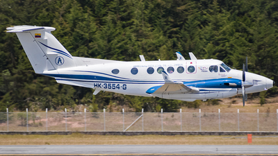 HK-3554-G - Beechcraft B200 Super King Air - Colombia - Aeronautica Civil