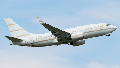 P4-BBJ - Boeing 737-7AV(BBJ) - Private