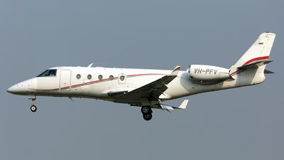 VH-PFV - Gulfstream G150 - Pacific Flight Services