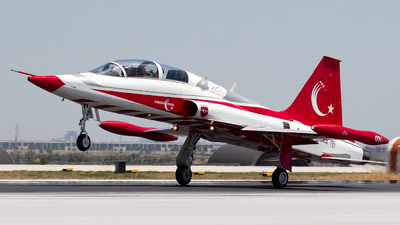70-3001 - Canadair NF-5B Freedom Fighter - Turkey - Air Force