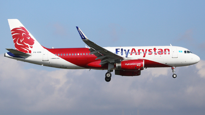 P4-KBN - Airbus A320-232 - Fly Arystan