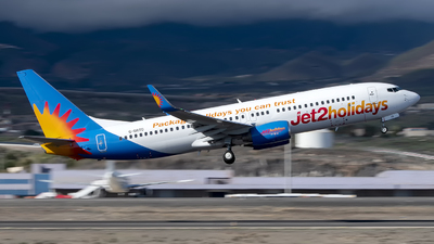 A picture of GDRTD - Boeing 737808 - Jet2 - © Leandro Hdez