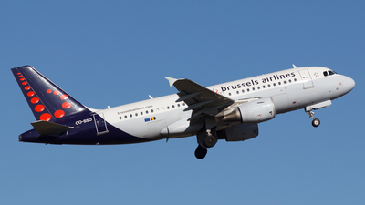 OO-SSO - Airbus A319-112 - Brussels Airlines