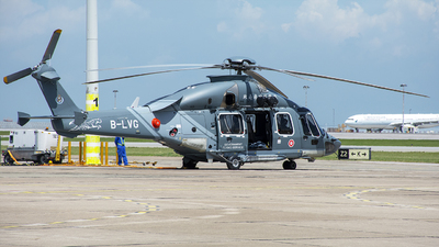 B-LVG - Airbus Helicopters H175 - Hong Kong - Government Flying Service (GFS)