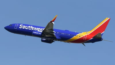 A picture of N8681M - Boeing 7378H4 - Southwest Airlines - © DJ Reed - OPShots Photo Team