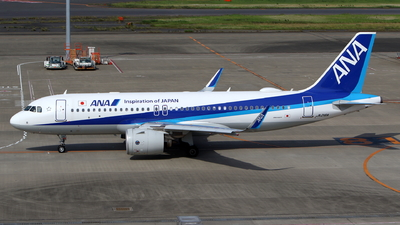 JA216A - Airbus A320-271N - All Nippon Airways (ANA)