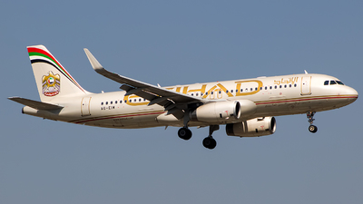 A picture of A6EIW - Airbus A320232 - Etihad Airways - © Aashay Bapaye
